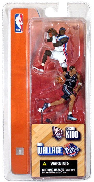Mcfarlane Toys NBA Detroit Pistons / New Jersey Nets Spor...