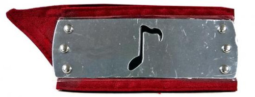 GE Naruto Sound Village Metal Plated Headband [Red Sash]