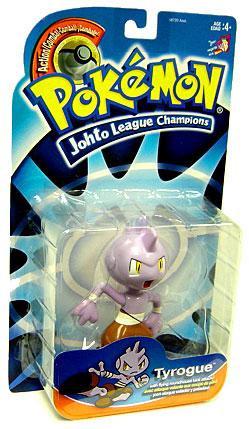 Pokemon Johto Edition Johto League Champions Tyrogue Acti...