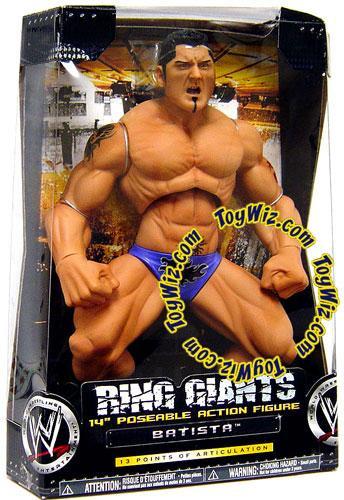 JAKKS WWE Wrestling Ring Giants Series 5 Batista Action F...