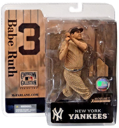 Mcfarlane Toys MLB Cooperstown Collection Series 2 Babe R...