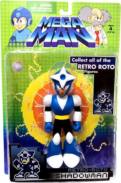 Jazwares Mega Man Series 1 Retro Roto Shadowman Action Fi...