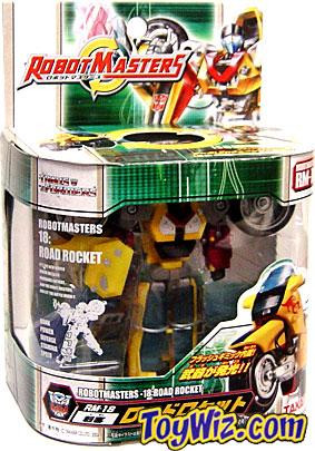 Transformers Japanese Robot Masters Road Rocket Action Fi...