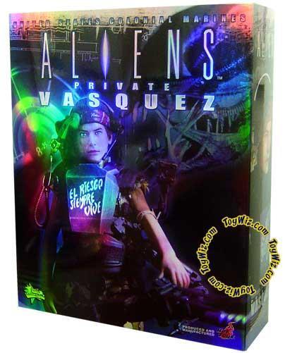 Hot toys Aliens Movie Masterpiece Private Vasquez 1/6 Col...