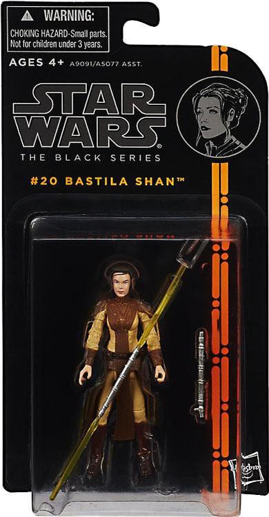 Hasbro Star Wars Black Series Wave 4 Bastila Shan Action ...