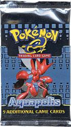 Wizards Of The Coast Pokemon Aquapolis Booster Pack