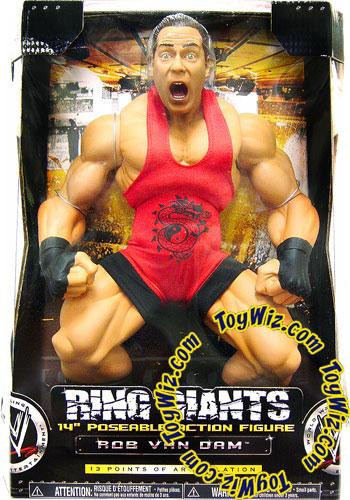 Wwe wrestling ring giants series 7 rob van dam 14 action - Wwe rvd images ...