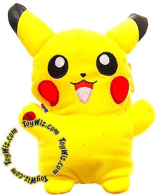 Banpresto Pokemon 5 Inch Pikachu Plush [Light-Up Pouch]