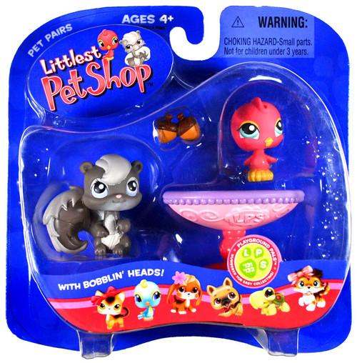 Hasbro Littlest Pet Shop Pet Pairs Bird & Squirrel Figure...