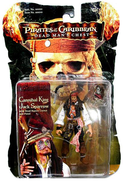 Pirates of the Caribbean Dead Man's Chest Captain Jack Sp...