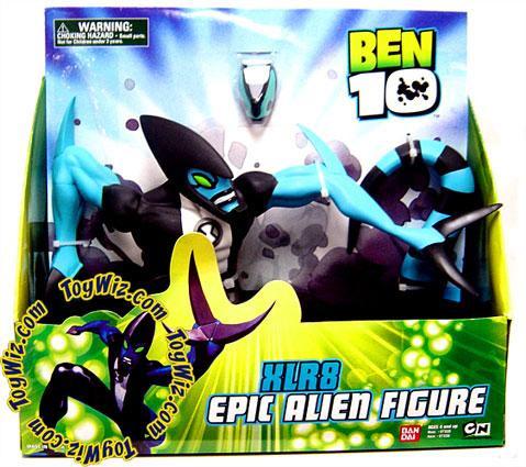 Bandai Ben 10 Epic Alien Figure XLR8 Action Figure