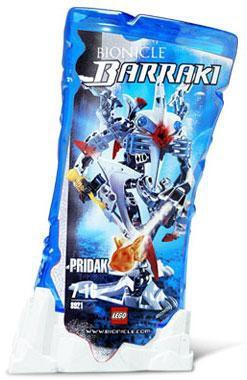 Lego Bionicle Barraki Pridak Set #8921