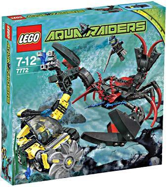 Lego Aqua Raiders Lobster Strike Set #7772