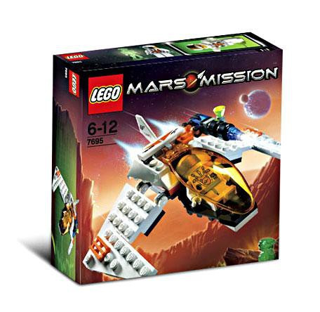 Lego Mars Mission MX-11 Astro Fighter Set #7695