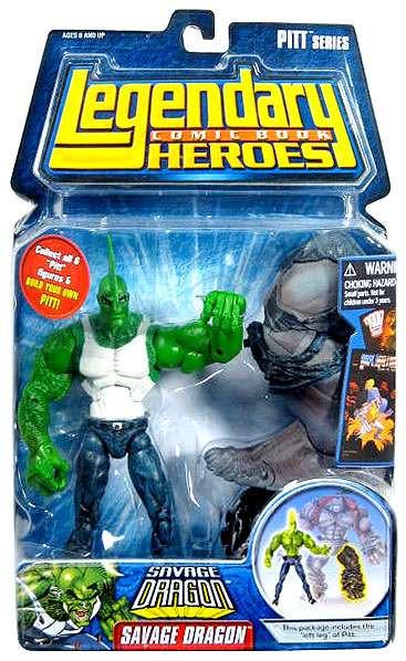 Marvel Legendary Heroes PITT Series Savage Dragon Action ...