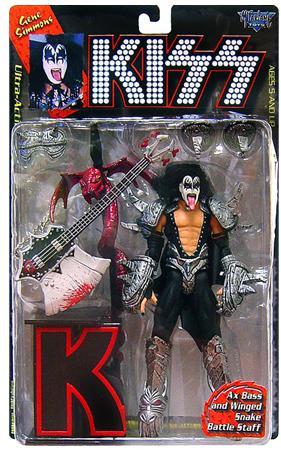 Mcfarlane Toys KISS Ultra Gene Simmons Action Figure