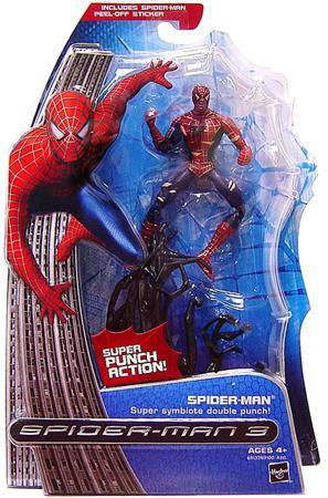 Hasbro Spider-Man 3 Spider-Man Action Figure [Super Symbi...
