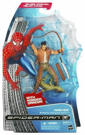 Hasbro Spider-Man 3 Kraven Action Figure