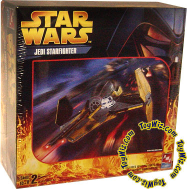 Star Wars Model Kits Jedi Starfighter Plastic Model Kit