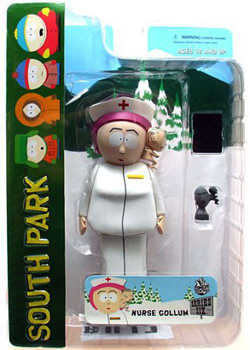 Mezco Toyz South Park Series 6 Nurse Gollum Action Figure