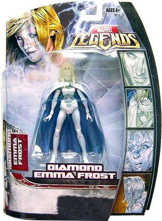 Hasbro Marvel Legends Exclusives Diamond Emma Frost Exclu...