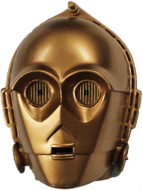 Kotobukiya Star Wars Realm Mask Magnets Series 1 C-3PO Ma...