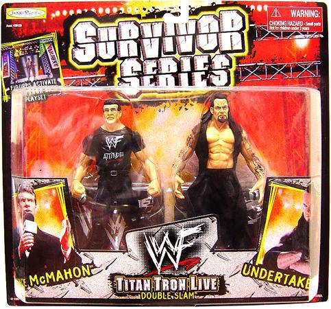 JAKKS WWE Wrestling Survivor Series Vince McMahon Vs. Und...