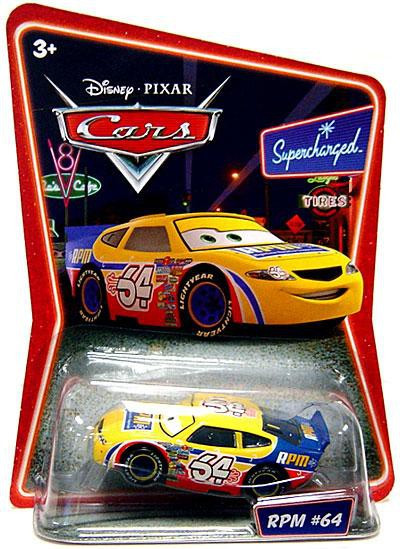 Cars 1 Movie Online >> Disney Cars Supercharged RPM No. 64 155 Diecast Car Mattel Toys - ToyWiz