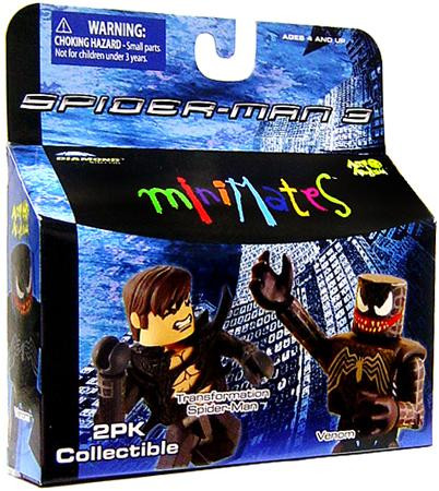 Diamond Toys Spider-Man 3 Minimates Series 18 Transformat...