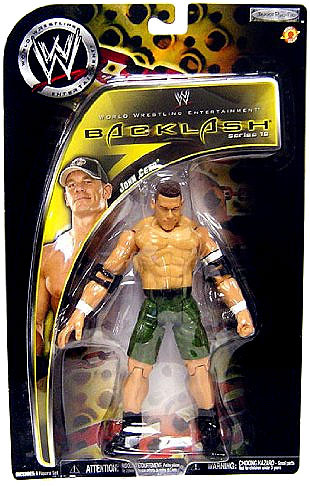 JAKKS WWE Wrestling Backlash Series 10 John Cena Action F...