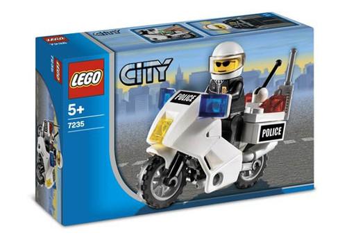 Lego City Police Motorcycle Set #7235