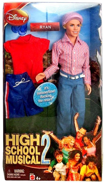 Mattel Disney High School Musical 2 Ryan Doll