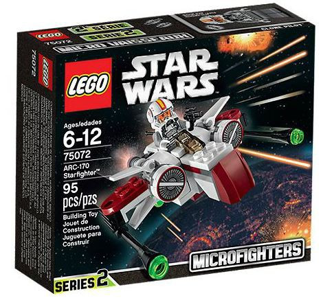 Lego Star Wars Attack of the Clones Microfighters Series ...
