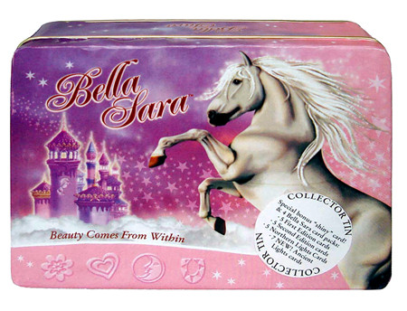 Hidden City Games Bella Sara 2007 Holiday Collector's Tin