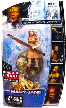 Hasbro Marvel Legends Spider-Man 3 Sandman Series Mary Ja...