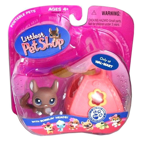 Hasbro Littlest Pet Shop Portable Pets Chinchilla Exclusi...