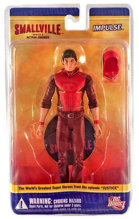 DC Superman Smallville Series 2 Impulse Action Figure