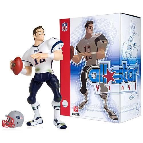 Upper Deck NFL New England Patriots All Star Vinyl Tom Br...