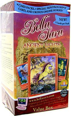 Hidden City Games Bella Sara Ancient Lights Value Box