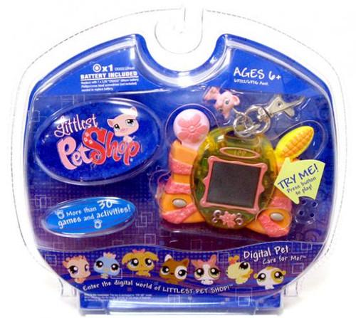 Hasbro Littlest Pet Shop Digital Pets Pig Digital Pet Ele...