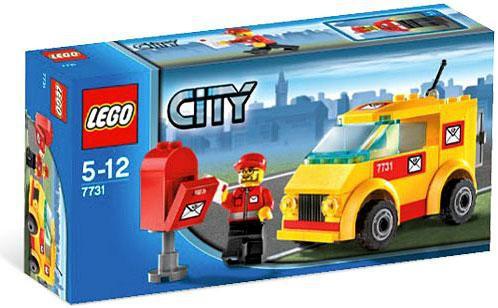 Lego City Mail Van Set #7731