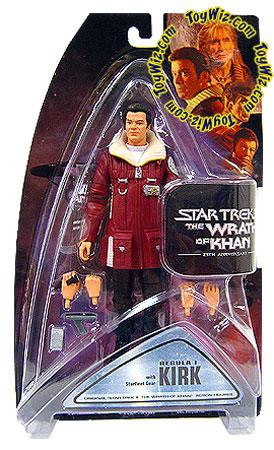 Star Trek The Wrath of Khan Series 1 Kirk Action Figure [...