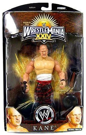 JAKKS WWE Wrestling Road to WrestleMania 24 Series 1 Kane...