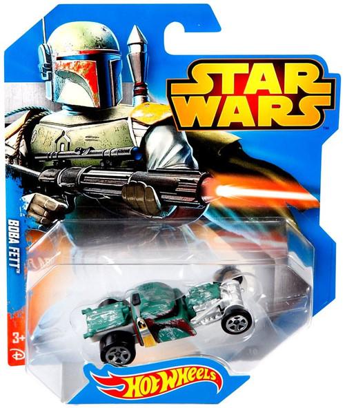 Mattel Hot Wheels Star Wars Boba Fett 1/6 Diecast Car