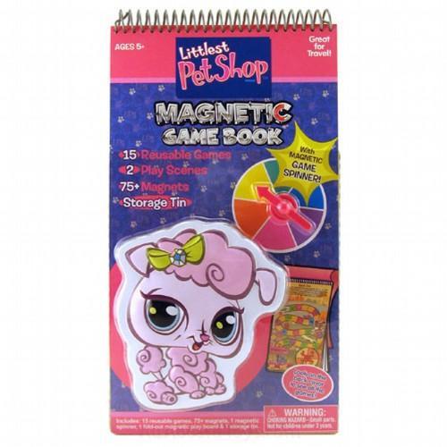 Hasbro Littlest Pet Shop Magnetic Game Book