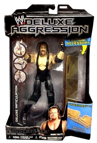 JAKKS WWE Wrestling Deluxe Aggression Series 14 Undertake...