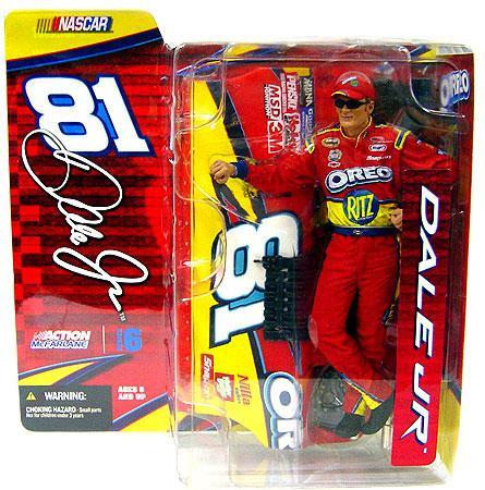 Mcfarlane Toys NASCAR Series 6 Dale Earnhardt Jr. Action ...