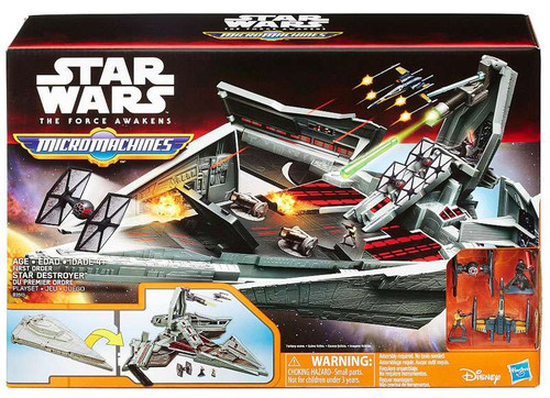 Hasbro Star Wars The Force Awakens Micro Machines First O...