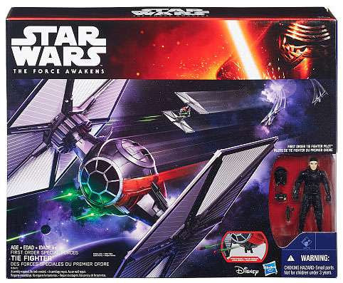 Hasbro Star Wars The Force Awakens Special Forces TIE Fig...