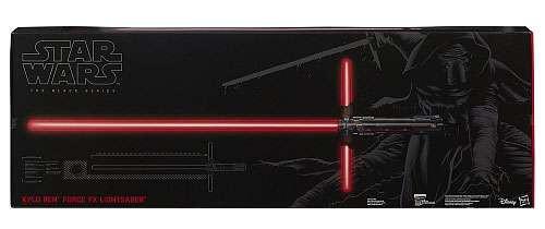 Hasbro Star Wars The Force Awakens Black Series Kylo Ren ...